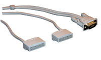 Bose 3-2-1 speaker cable, sølv