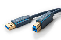 Clicktronic Casual USB 3.0 Type A-B