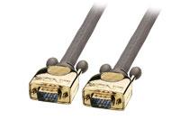 Lindy Premium Gold VGA/XGA Monitor Kabel (HD15 han - han), 2.00 meter