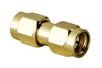 SMA plug-plug adaptor (Male - male)