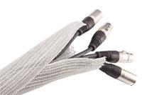 Selvlukkende kabelsok, grå