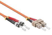 Otical network cable, SC-ST OM2