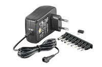 Power supply 3-12V DC, 2250 mA