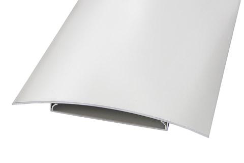 Bosscom Alu kabel bakke, 200 mm. sølv