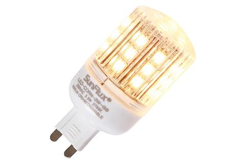 SunFlux G9 LED 2.5W 2700K