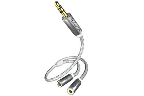 inakustik Premium MiniJack Y-split cable