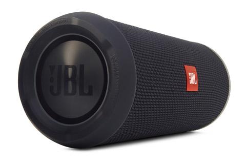 Efterfølgeren til den anmelderroste JBL Flip er blevet endnu bedre! JBL Flip 3 har bedre batteri tid, er stænksikker og med JBL Connect teknologi.