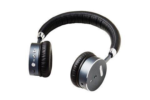 Sackit WOOFit bluetooth headphones, black