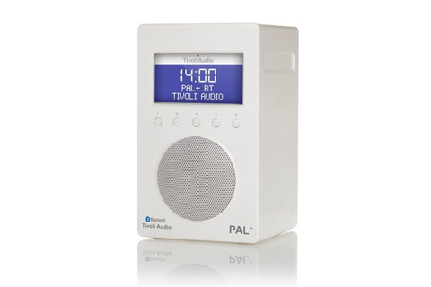 Tivoli Audio PAL+ BT, white highgloss / White