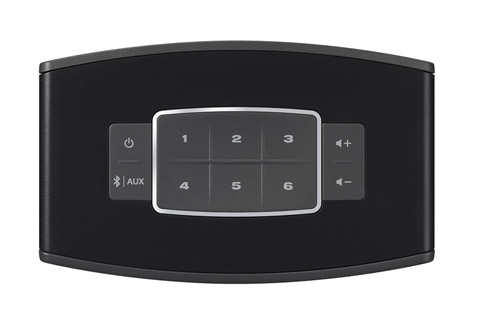 Bose SoundTouch 10, top view