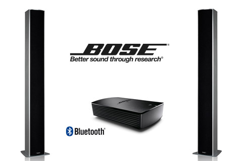 - Piega TMicro6 + Bose SoundTouch SA-5, silver/black