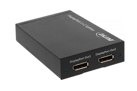 Displayport switch, 2-way - Rear