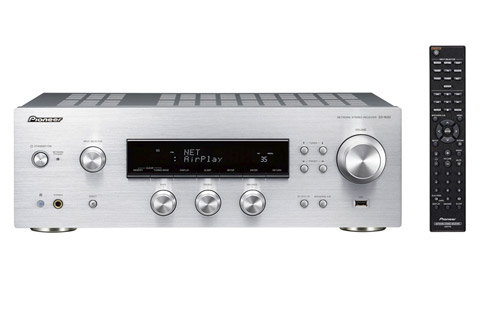 Pioneer SX-N30-S stereo receiver, silver