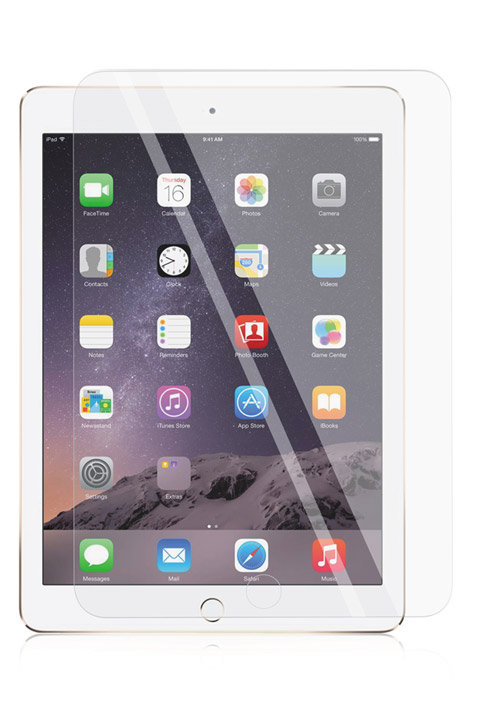 - PANZER Tempered Glass for iPad Air 1/2