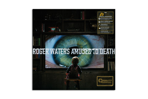 LP - Roger Waters Amused to Death front