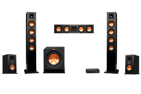 - Klipsch RP-HD Wireless 5.1 hometheater system