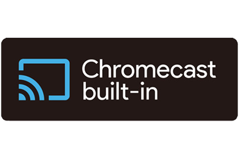 Google Chromecast built-in