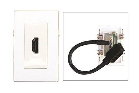 WP-1005, HDMI vægdåse
