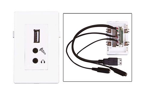 WP-1009, USB og Dobbelt Minijack