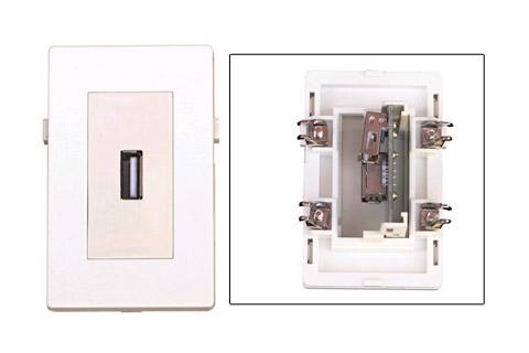 WP-1010, USB Vægdåse