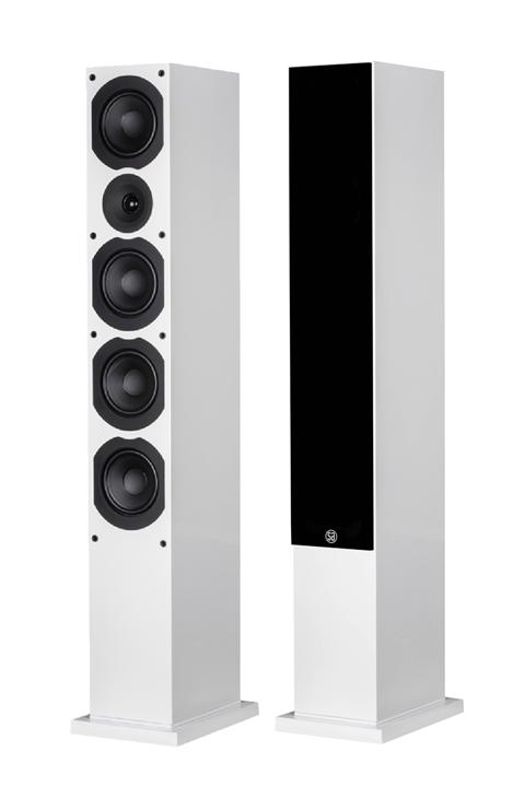 System Audio Saxo 70, hvid
