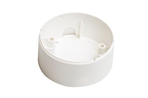 Zensehome Underlag til lampeudtag,høj, hvid