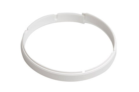Zensehome Underlag til lampeudtag,ultra lav, hvid