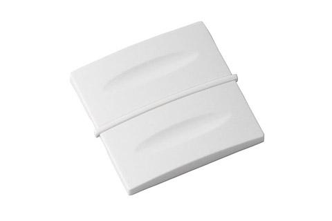 Zensehome dæksel til betjeningstryk, hvid