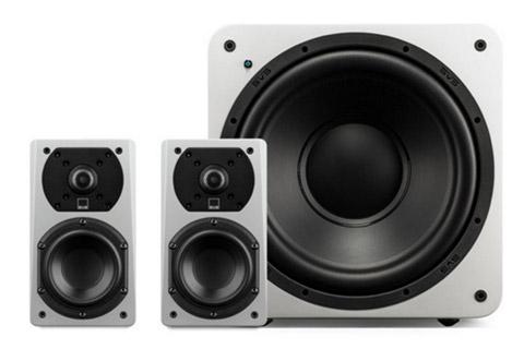 SVS Prime 2.1 system, white