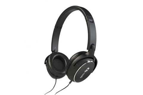 Klipsch R6i on-ear hovedtelefoner, sort