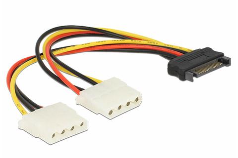 Molex splitkabel til SATA strøm