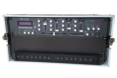 AV-Con Mixerrack for Bose F1 - Open