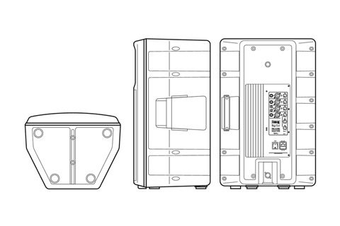 Stage Line PAK-115MK2 DRAW