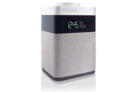 Pop Mini er det mest kompakte medlem af Pure Pop-serien med både DAB+ og FM radio samt fem dedikerede knapper til nem adgang af dine radio-kanaler
