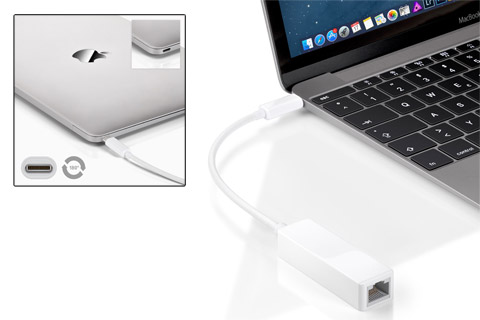Goobay USB-C til RJ45 adapter - Example
