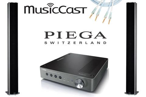 - Yamaha WXA-50 MusicCast and PIEGA Tmicro 5