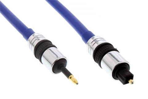 Mini toslink til toslink kabel