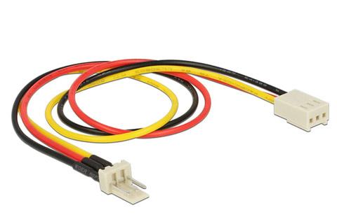 Strøm kabel Molex 3 pin til 3 pin hun (blæser)