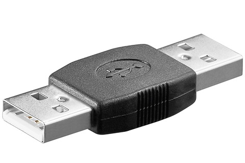 USB 2.0 Hi-Speed Adapter (Type A han - A han)