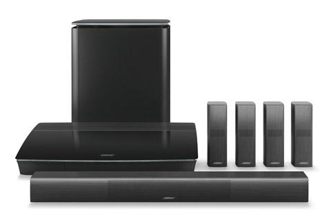 Bose Lifestyle 650, black