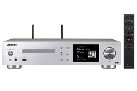 Pioneer NC-50DAB network audio amplifier, silver