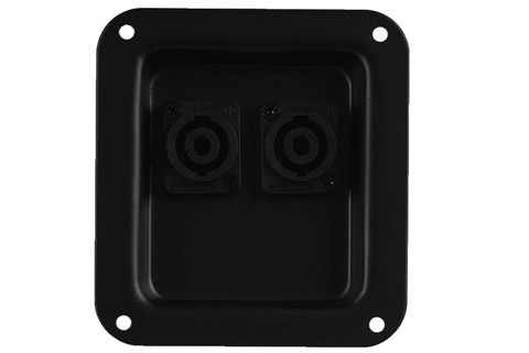 speakerterminal medl 2x Speakon inputs