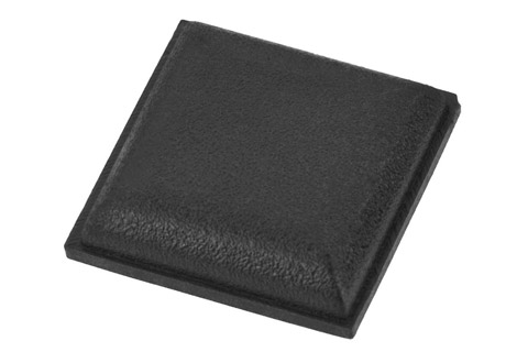Anti-vibration feets, ideal for small speaker units . Available in 45 pcs. package and the dimmensions are 13 x 13 x 3,5 mm.
