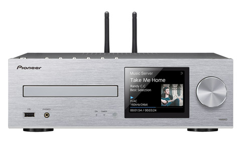 Pioneer XC-HM86D, silver
