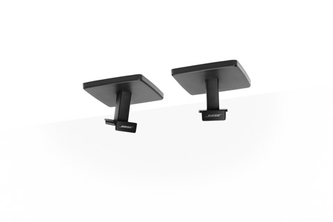 ceiling mount, black
