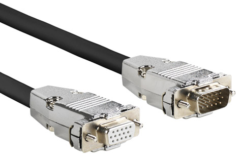 VGA professional extension cable (male - female)