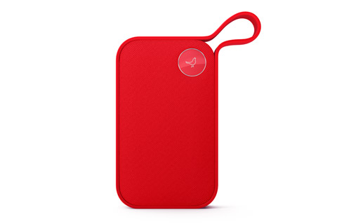 Libratone ONE style wireless speaker, cerise red