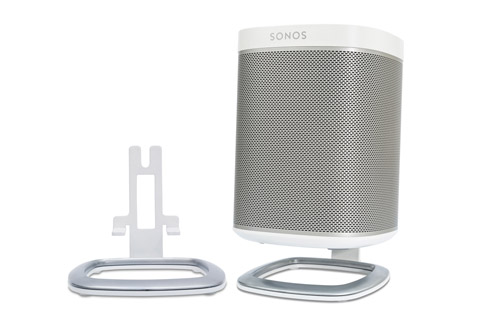 Flexson table stands for Sonos PLAY1, white