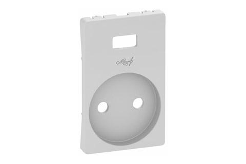 LK Fuga tangent til USB stikkontakt, grå