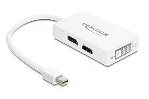 Mini displayport til DVI/HDMI adapter